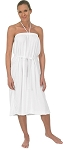 Bare Shoulders Terry Spa Gown #225/525