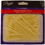 Diane 100 Pack Pointed Roller Picks
