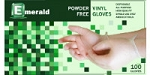 Emerald Powder Free Vinyl Gloves
