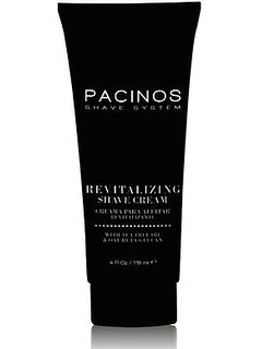 Pacinos Revitalizing Shave Cream