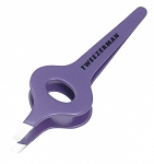 Wide Grip Slant Tweezer 1217-P