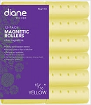 Diane 12-Pack Magnetic Rollers 15/16