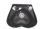 Heart-Shape Shampoo Bowl with Single Handle Faucet