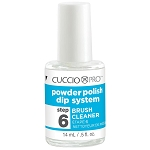 Cuccio Pro Powder Polish Dip system Step 6 Brush Cleaner