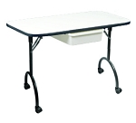 Manicure Table with Folding Legs - 16