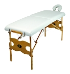 Portable Massage Bed - Adjustable Height