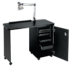 Nail Center - Locking Cabinet - 18
