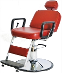 Prince Hydraulic Barber Chair with 1608 Base