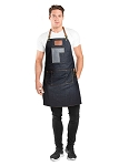 Betty Dain Brooklyn Denim Barber Apron  #195