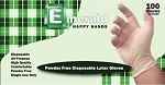 Emerald Powder-Free Latex Gloves