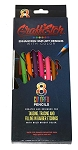 GraffEtch Neon/Hot Color Pencils (8pcs)