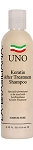 Uno Keratin and Collagen  Shampoo 4 oz/125 ml