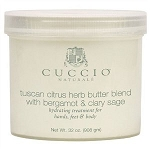 Cuccio Naturale Tuscan Citrus Herb With Bergamot & Clary Sage Butter Blend Body Creme