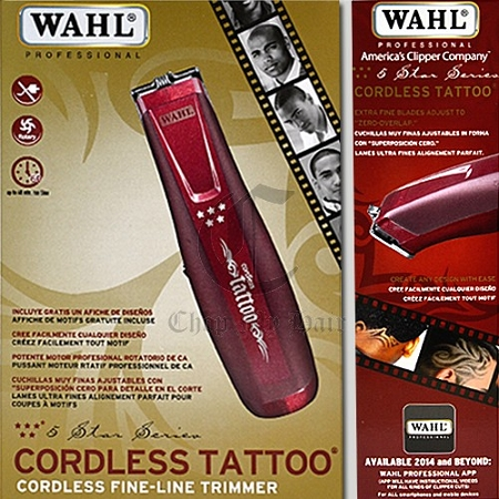 Wahl cordless tattoo for Wahl tattoo clippers