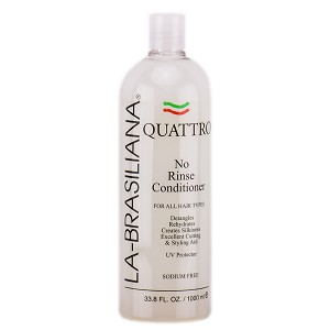 La-Brasiliana Quattro No Rinse Conditioner 33 oz/1 LT
