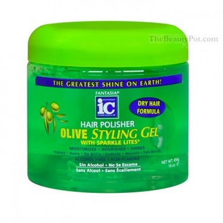 ic hair polisher styling gel fantasia hair polisher olive styling gel 8376